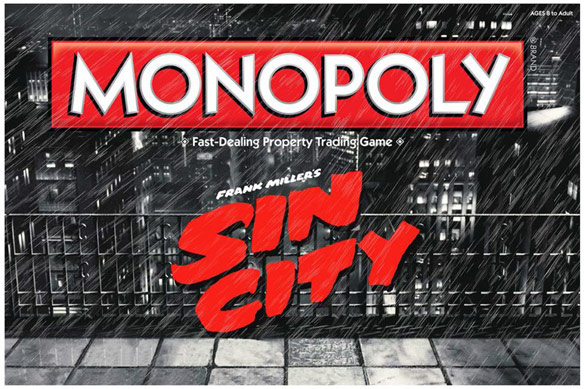 Sin City Monopoly Board Game