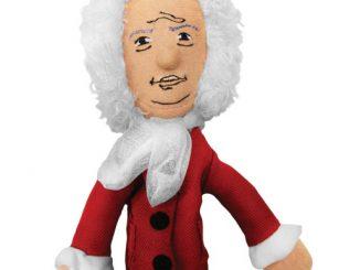 Sir Isaac Newton Finger Puppet Magnet