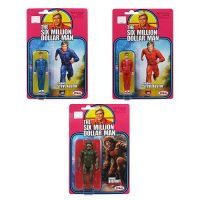 Six Million Dollar Man Steve Austin & Bigfoot Figure 3-Pack