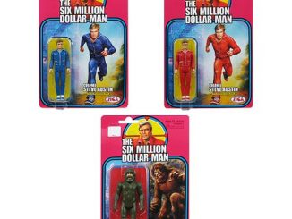 Six Million Dollar Man Steve Austin & Bigfoot Figure 3-Pack