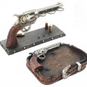 Six Shooter Pistol Bathroom Set