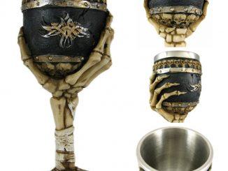 Skeletal Hand Wine Goblet