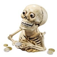 Skeleton Coin Bank