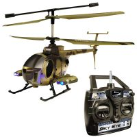 Sky Eye RC Military Helicopter Shoots Video Photos