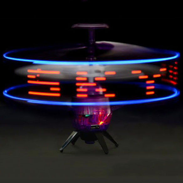 Sky Writer UFO Space Messenger