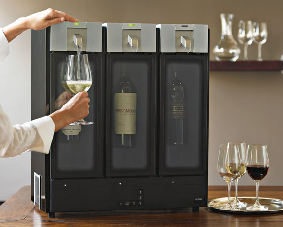 Skybar 3-Chamber Wine Preserving System