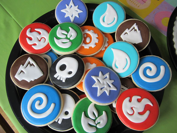 Skylanders Elements Sugar Cookies
