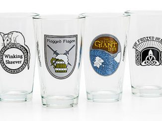 Skyrim 4-Pack Pint Glass Set