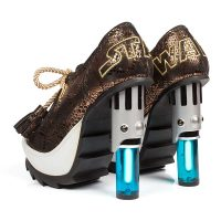 Skywalker Lightsaber Lace Up Heels - Limited Edition