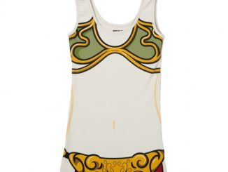 Slave Leia Cosplay Tank Dress