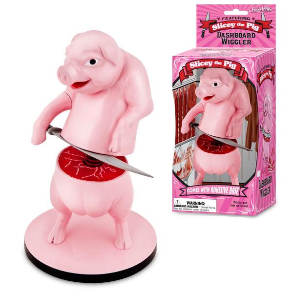 Slicey the Pig Dashboard Wiggler