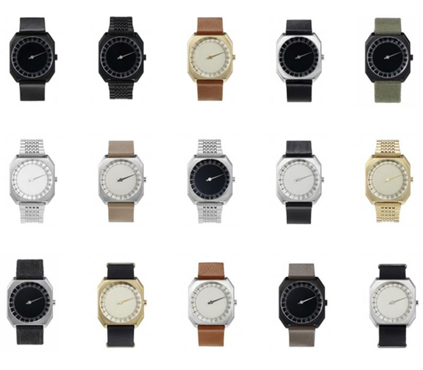 Slow Jo 24-Hour One Hand Watch Styles