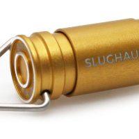 SlugHaus Bullet 02 Brass Flashlight