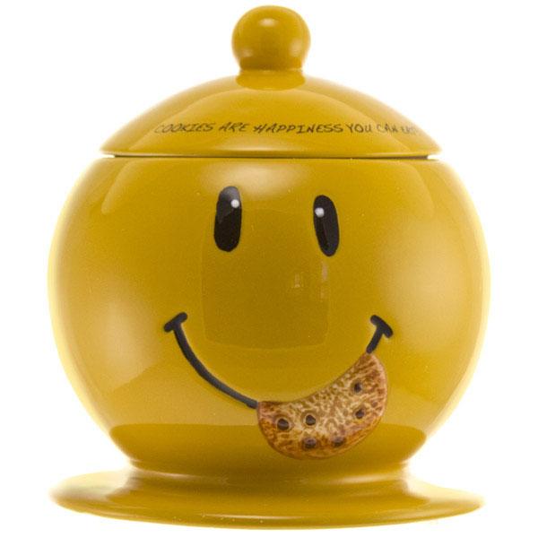 Smiley Face Cookie Jar