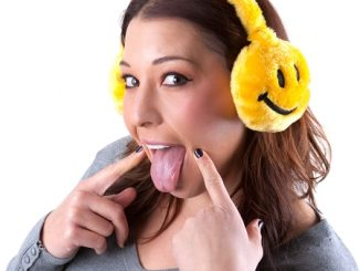 Smiley Face Ear Muffs