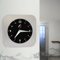 Smoke Alarm Clock