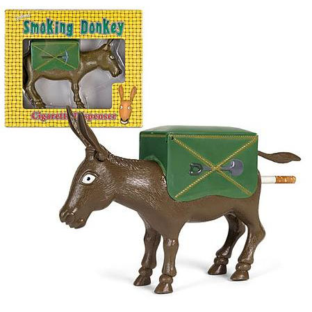 Smoking Donkey Cigarette Dispenser