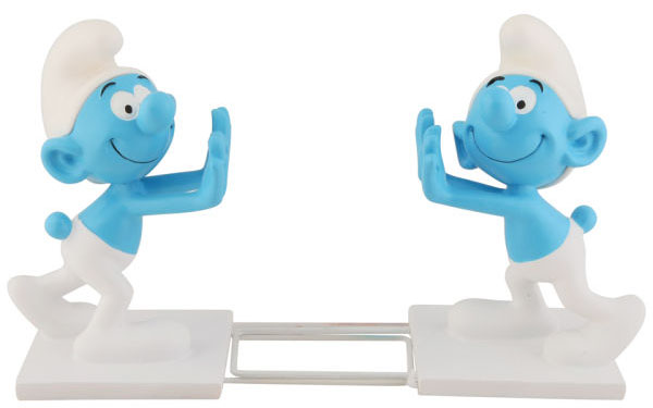Smurf Bookends