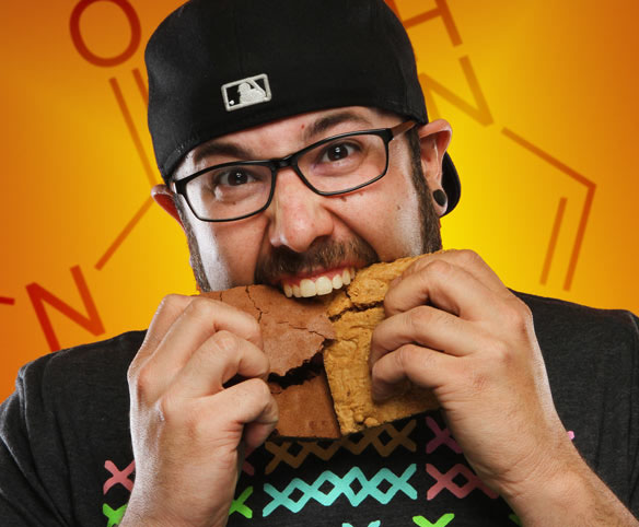 Snack in your Face Caffeinated Brownies and Cookies
