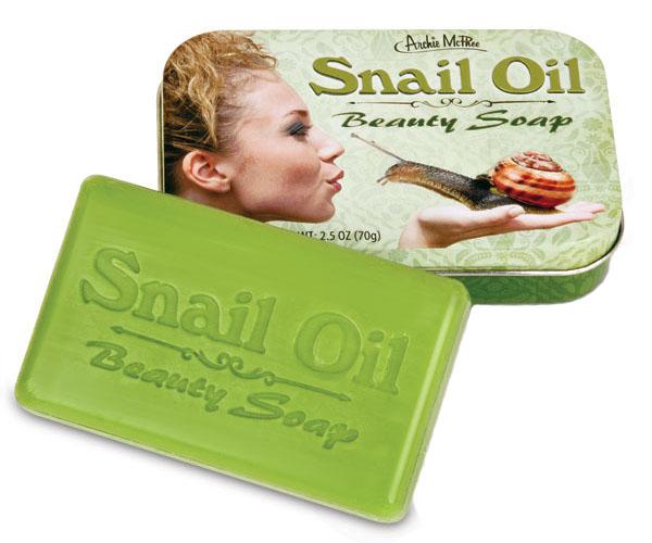 Snail Oil Beauty Soap