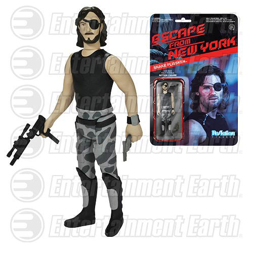 Snake Plissken ReAction Retro Action Figure