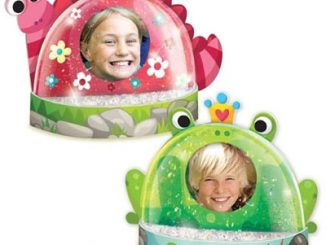 Snow Dome Photo Frame