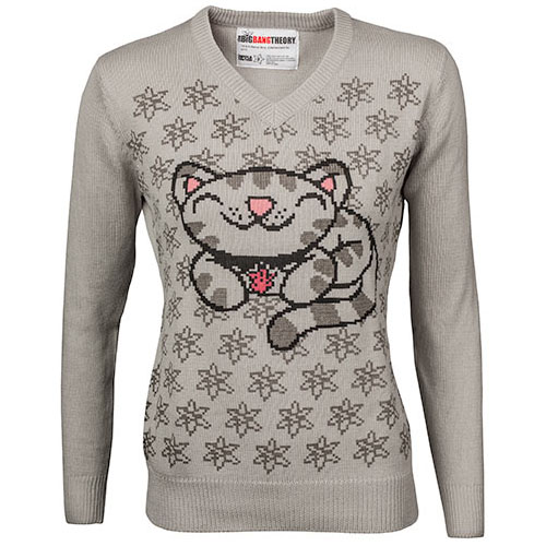 Soft Kitty V-Neck Sweater