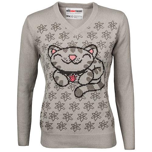 Soft Kitty V-Neck Sweater