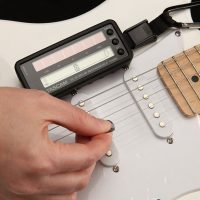 Solar Powered Guitar Tuner