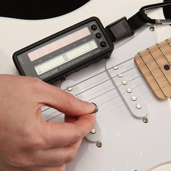 Solar Powered Guitar Tuner