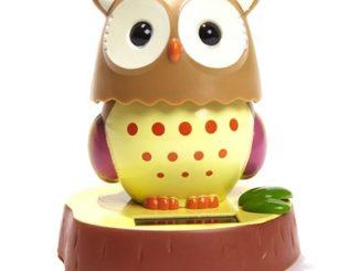 Solar Powered Owl