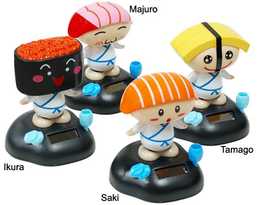 Solar Sushi Dancers