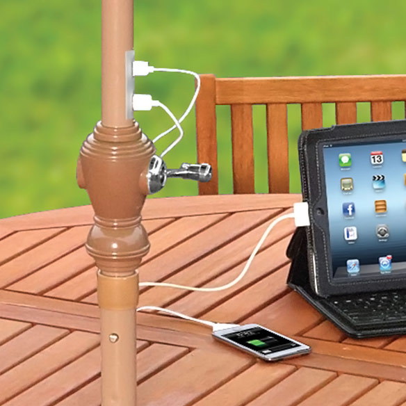 Solar Umbrella Device Charger