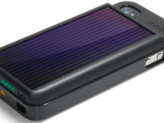 Solar iPhone Battery Charger