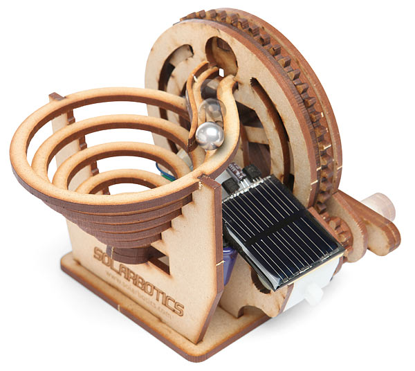 Solarbotics Perpetual Motion Marble Kit