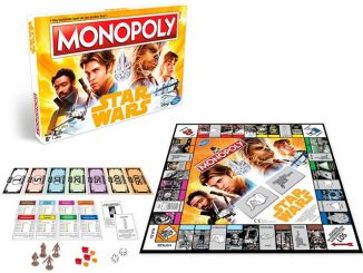 Solo A Star Wars Story Monopoly Game