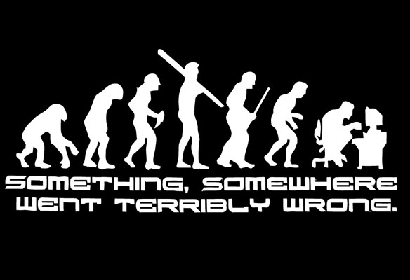 Something Somewhere Went Terribly Wrong T-Shirt