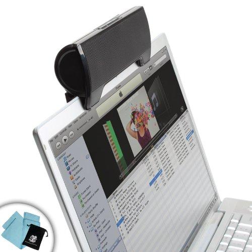 SonaWAVE Desktop and Clip-On USB Stereo Speaker
