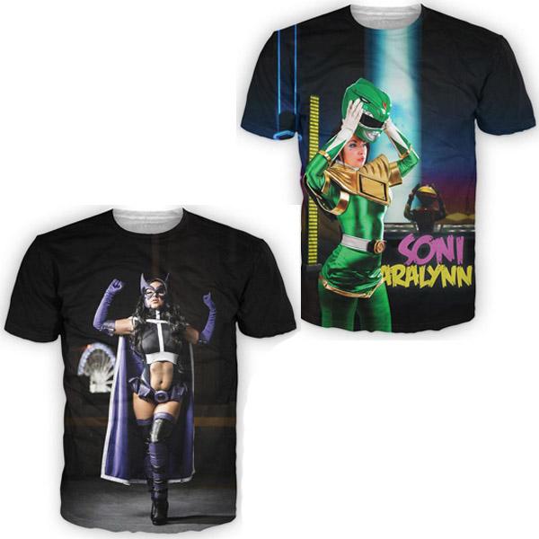 Soni Aralynn Cosplay Shirts