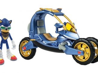 Sonic Blue Force One Transforming Bike Figure