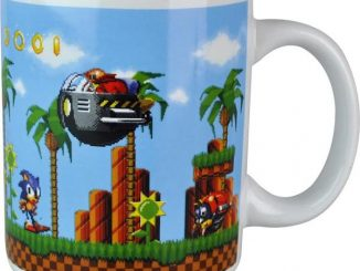 Sonic Mug Gold Rings