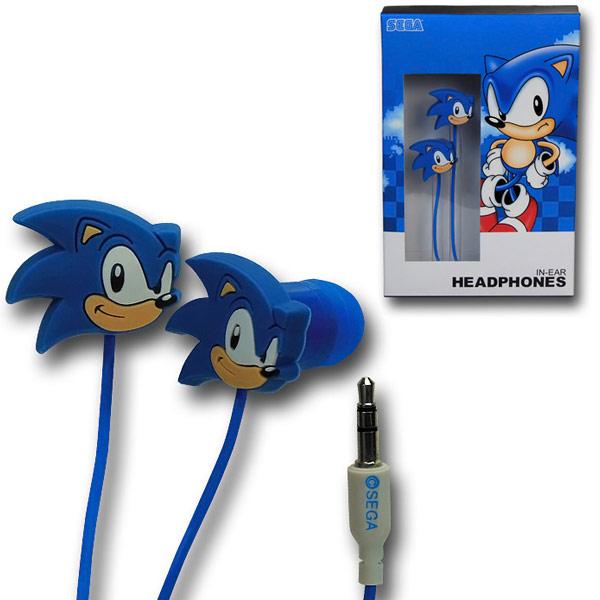 Sonic The Hedgehog Rubber Earphones