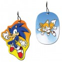 Sonic and Tails Air Fresheners