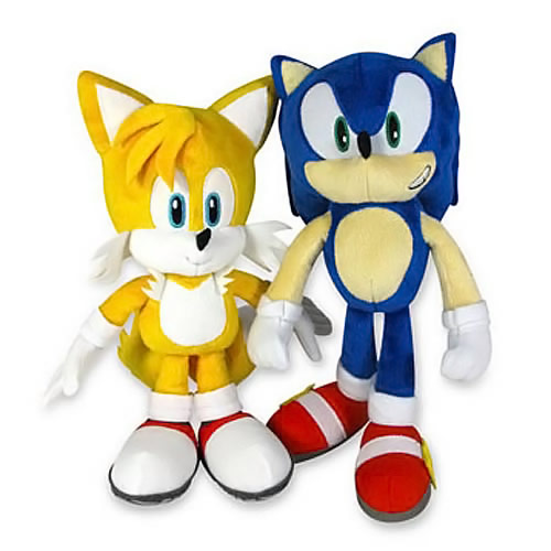 Sonic the Hedgehog 20th Anniversary Plush Set