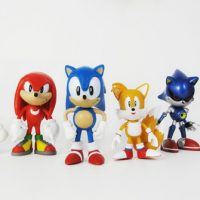 Sonic the Hedgehog Classic 2-Inch Minifigure 6-Pack