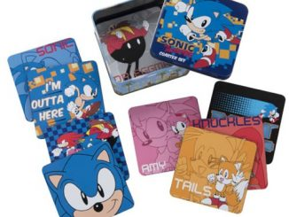 Sonic the Hedgehog Coaster Set with Tin Storage Box 10-Pack
