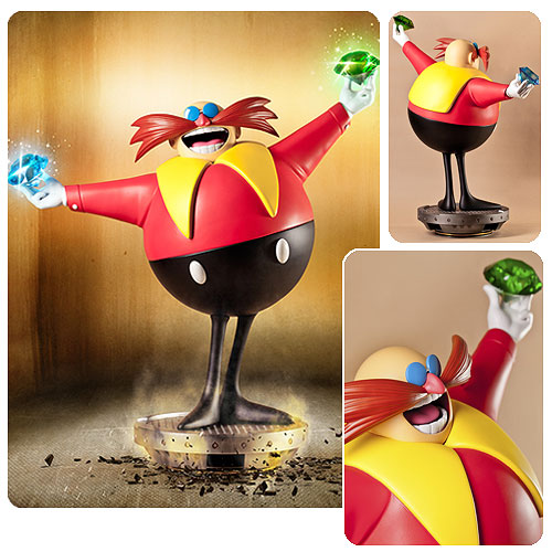 Sonic the Hedgehog Dr. Ivo Eggman Robotnik Statue