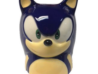 Sonic the Hedgehog Face Molded 16 oz. Mug
