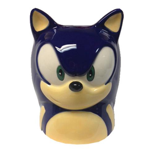 Sonic the Hedgehog Face Molded 16 oz. Mug