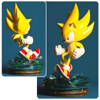 Sonic the Hedgehog Modern Super Sonic Statue